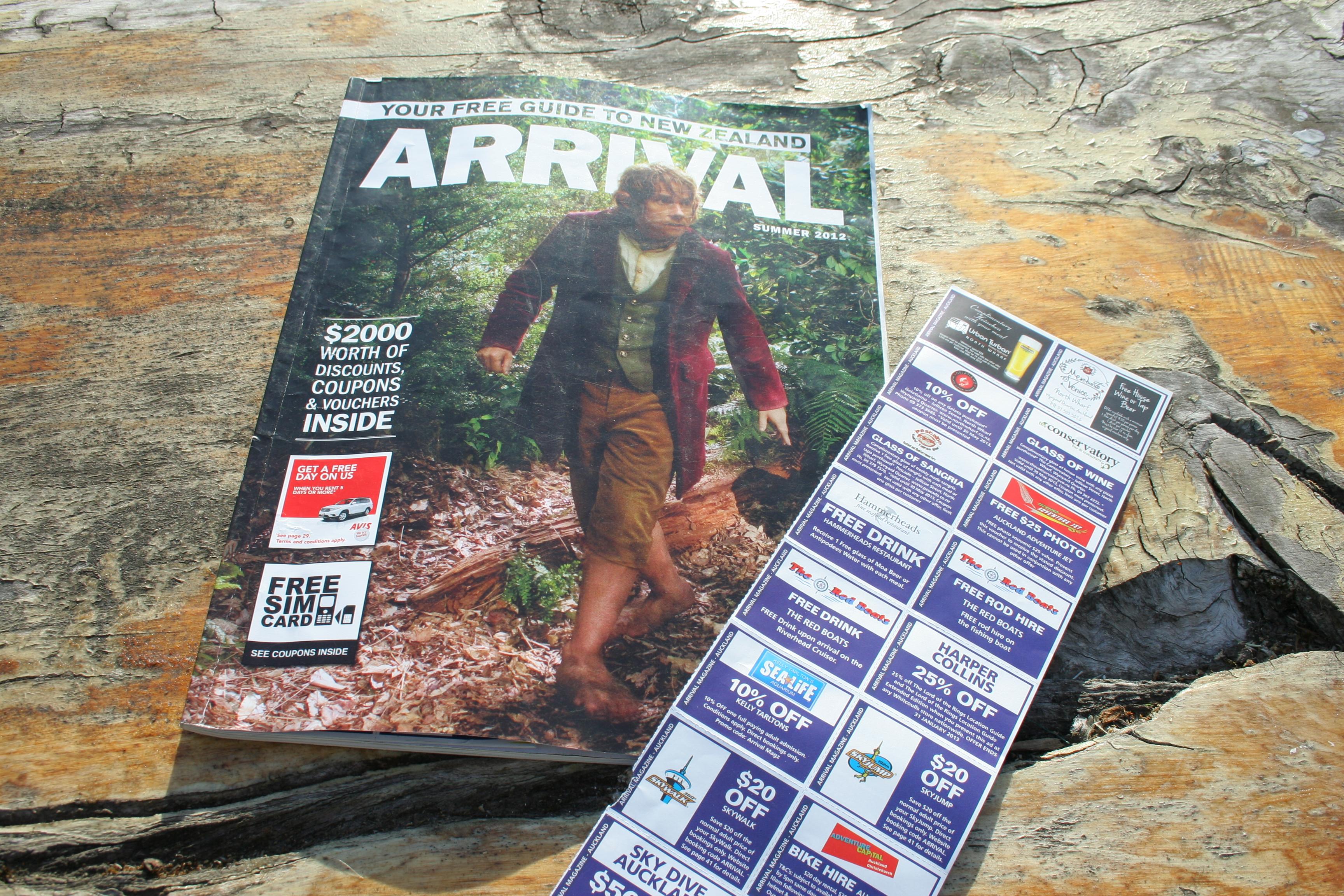 Arrival magazine