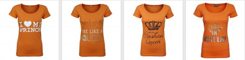 some queen's day t-shirts