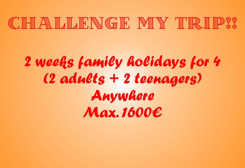 challenge my trip