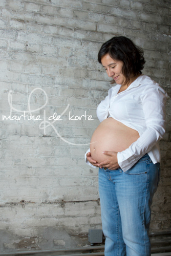 Fotoshoot at Joolz studio with Martine de Korte - 27 weeks