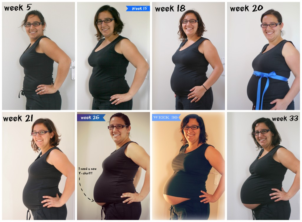 5 to 33 weeks