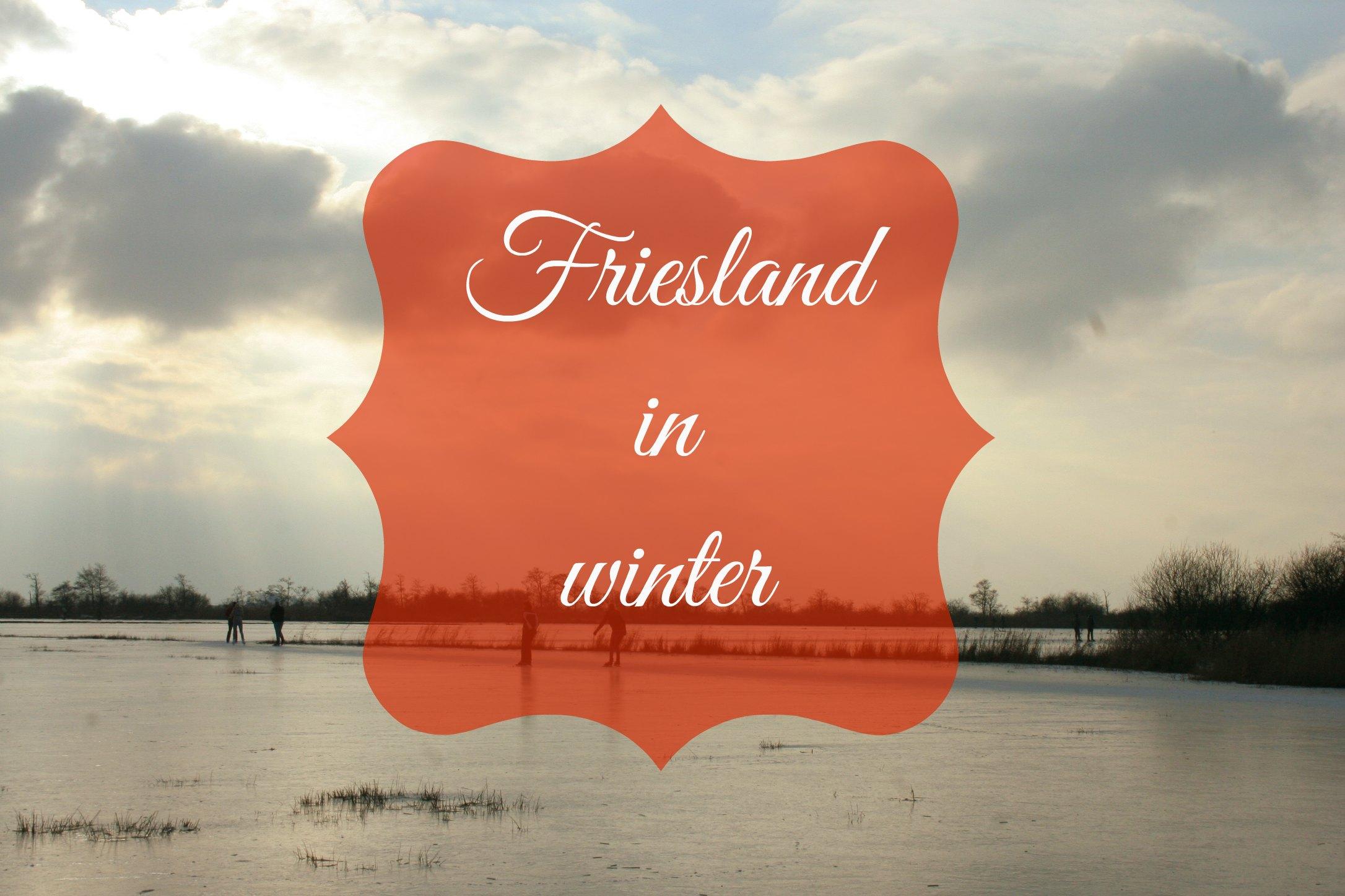 Friesland in winter
