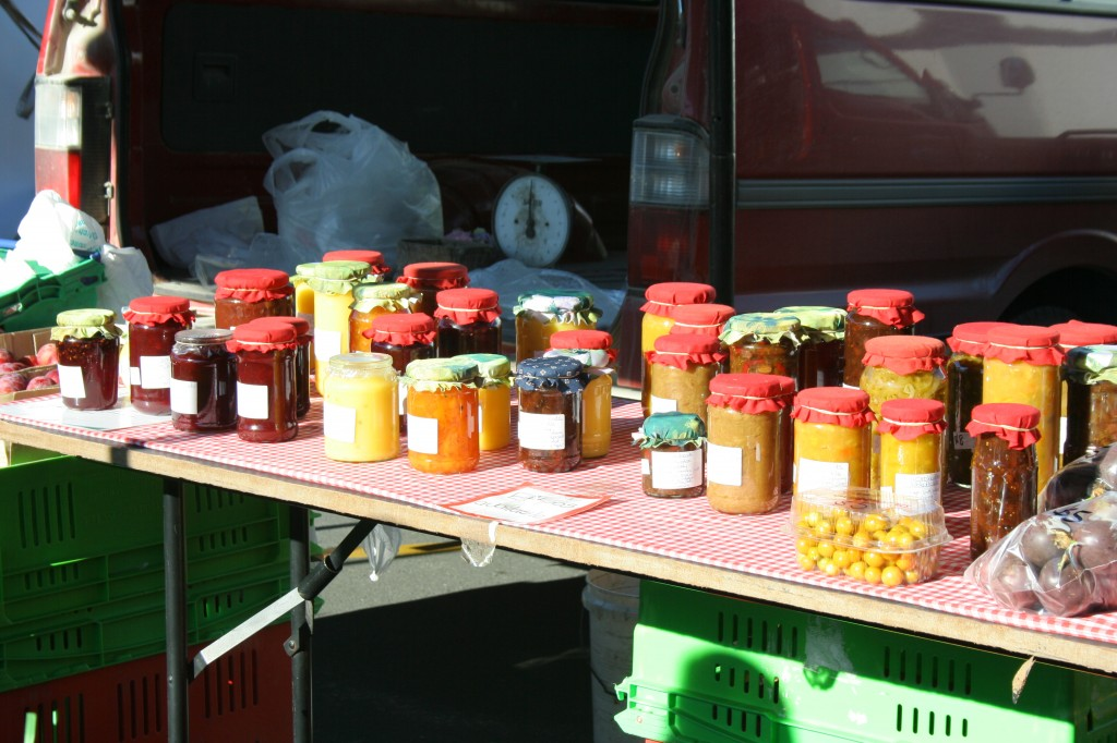 farmers market Kerikeri - homemade jam