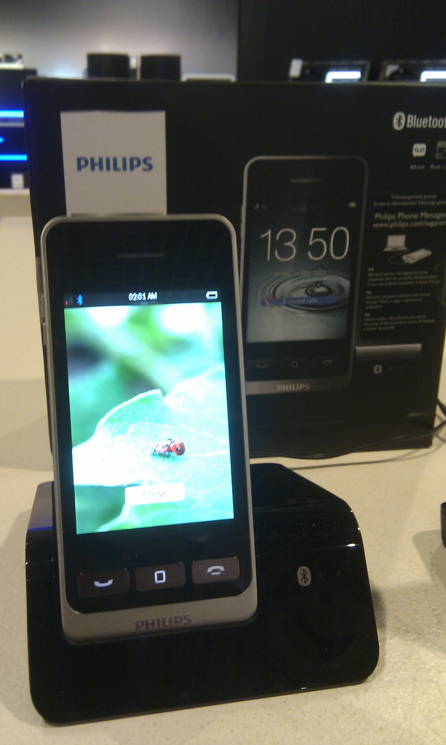 Philips MobileLink Digital cordless phone S10