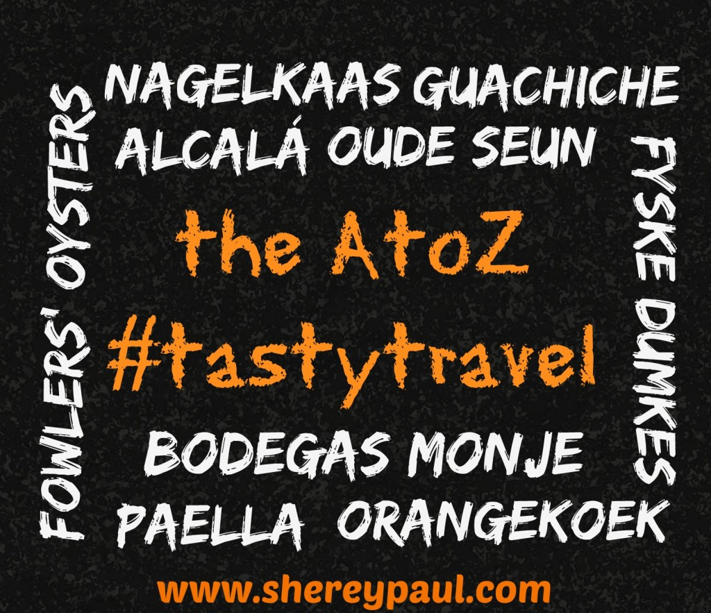 AtoZ #tastytravel