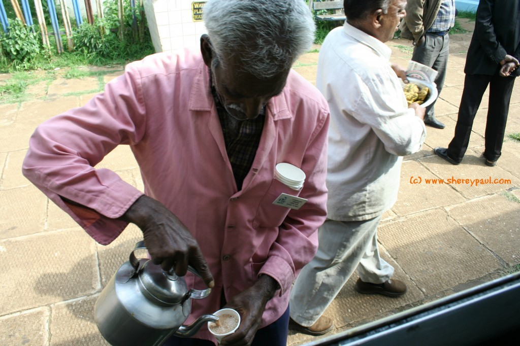 tea man in Ooty