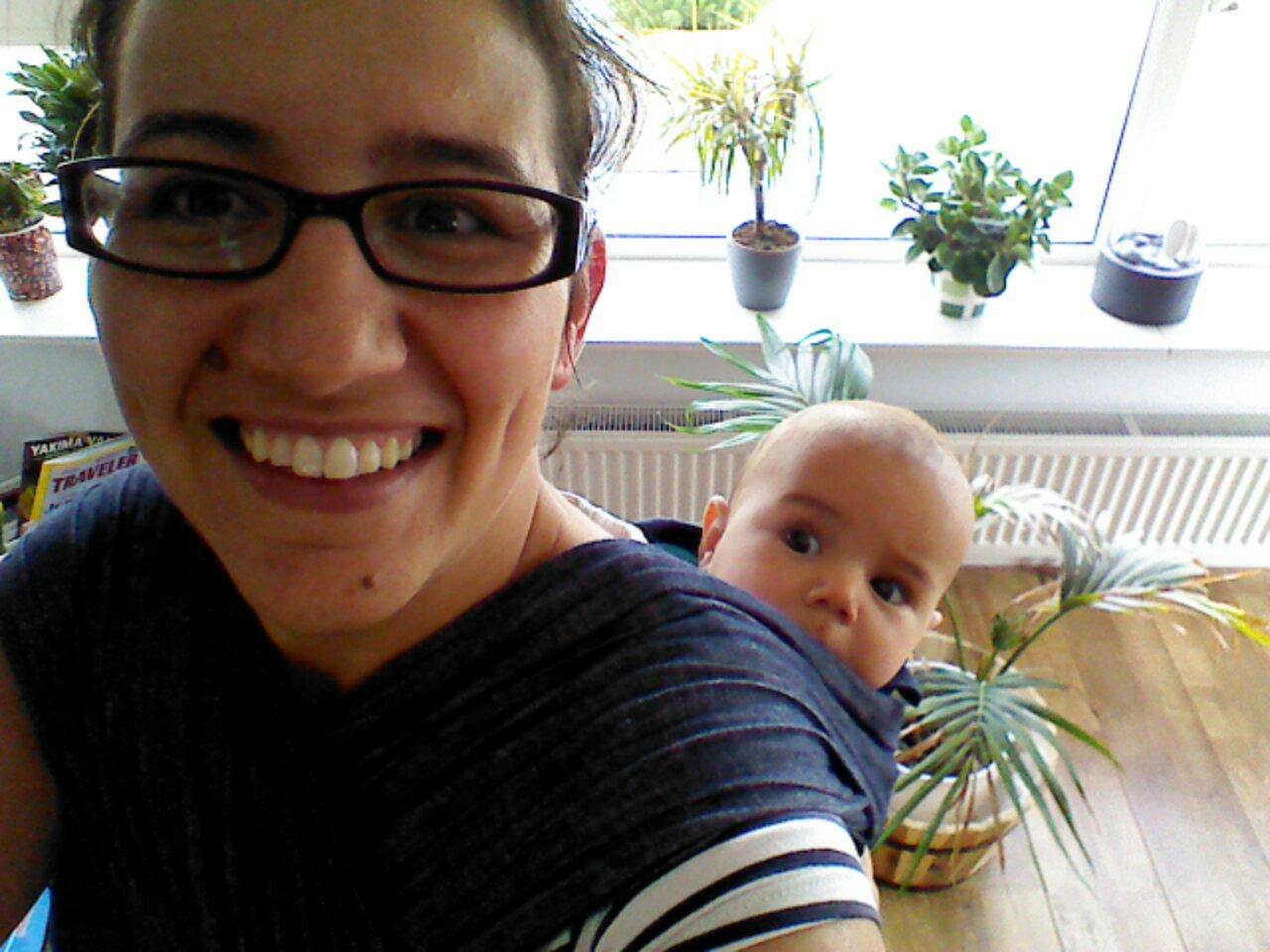 Babywearing selfie-WW/MM