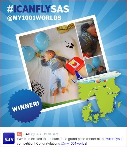 The winner of the #Icanflysas competition is… – Wordless Wednesday