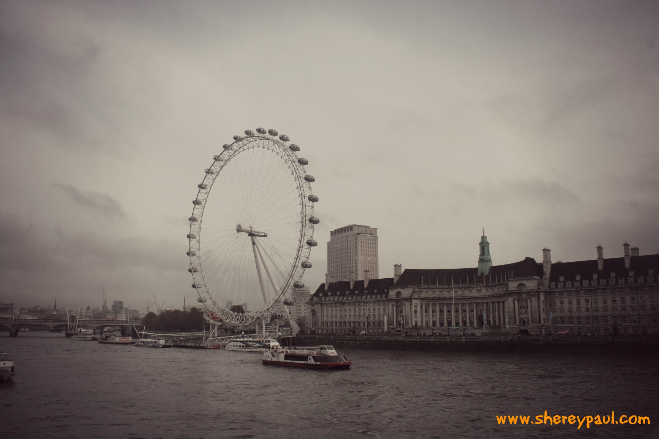London Eye and Sea Life Aquarium