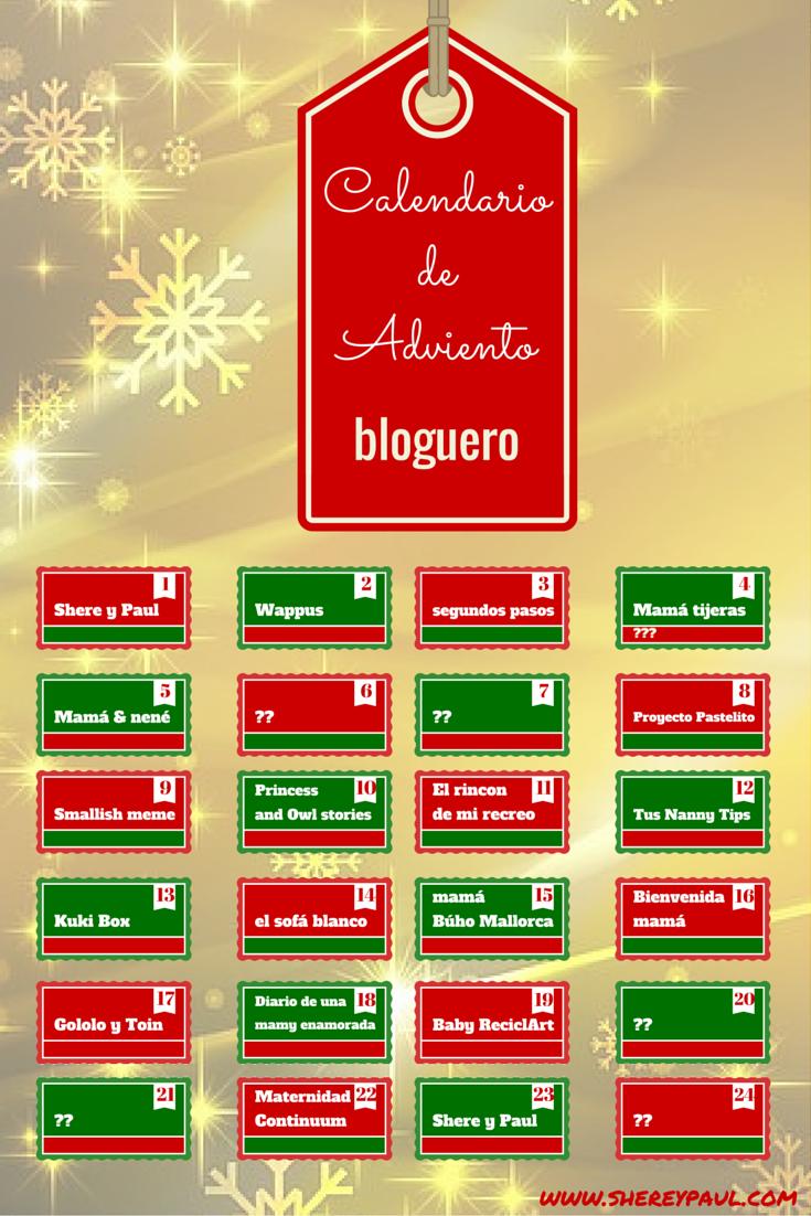 participantes calendario de adviento bloguero