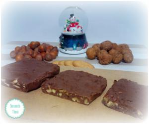 16 Diciembre: Receta: Turrones de chocolate con thermomix | Bienvenida mamá