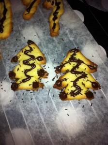 4 Diciembre: mama tijeras - galletas de navidad