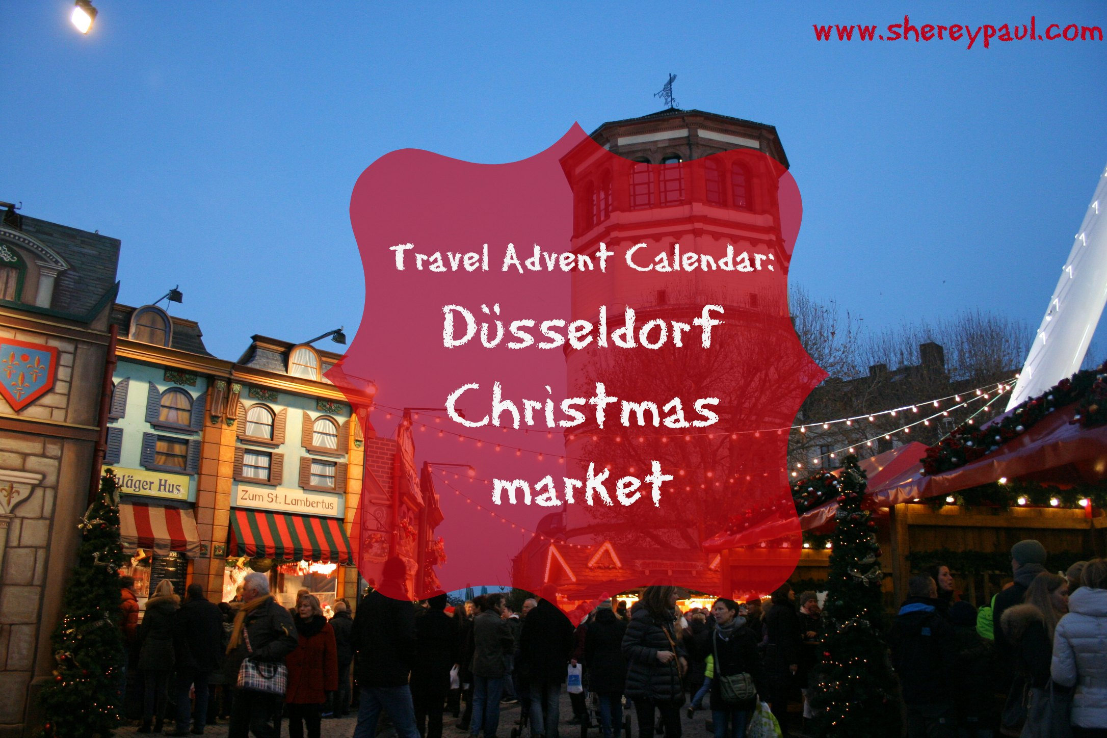 Düsseldorf Christmas Market | Shere y Paul