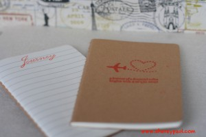 Xmas gifts for travelers kids can make travel diary