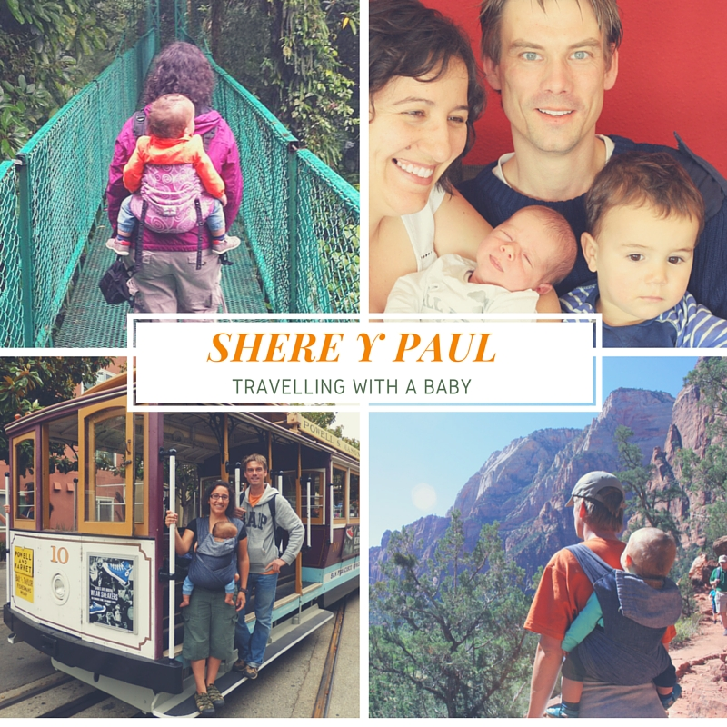 Shere y Paul - travelling with a baby