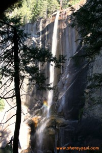 hiking with baby in yosemite np - vernal falls 3