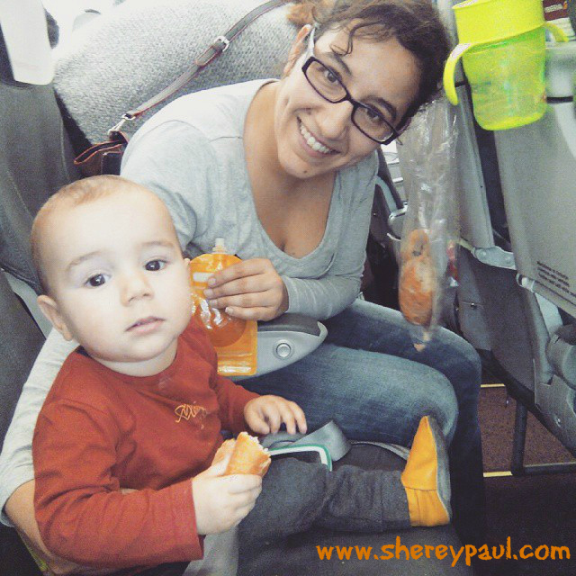 Tips for flying with a 6 to 12 months old baby