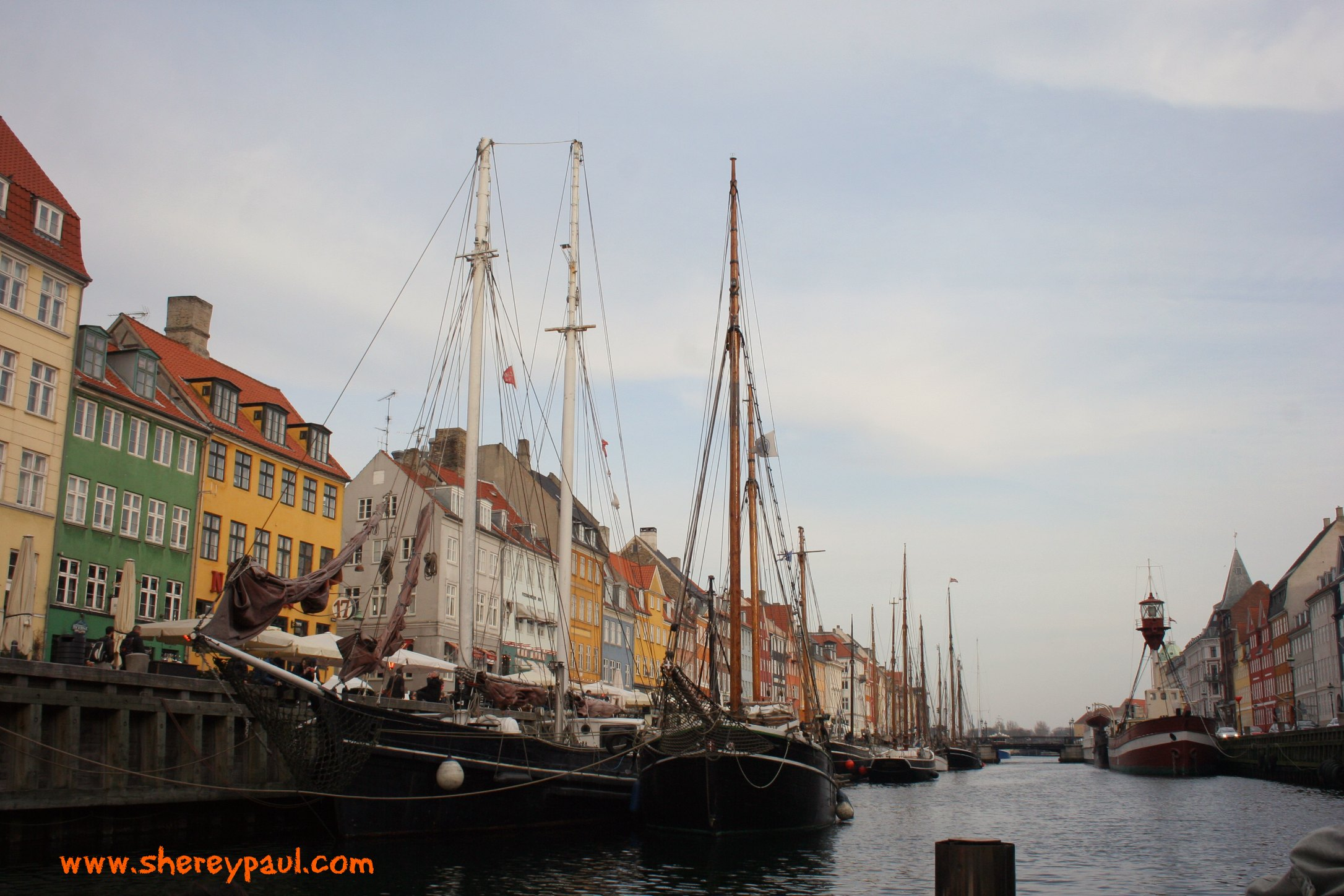 Postcard from Copenhagen Nyhavn – ww