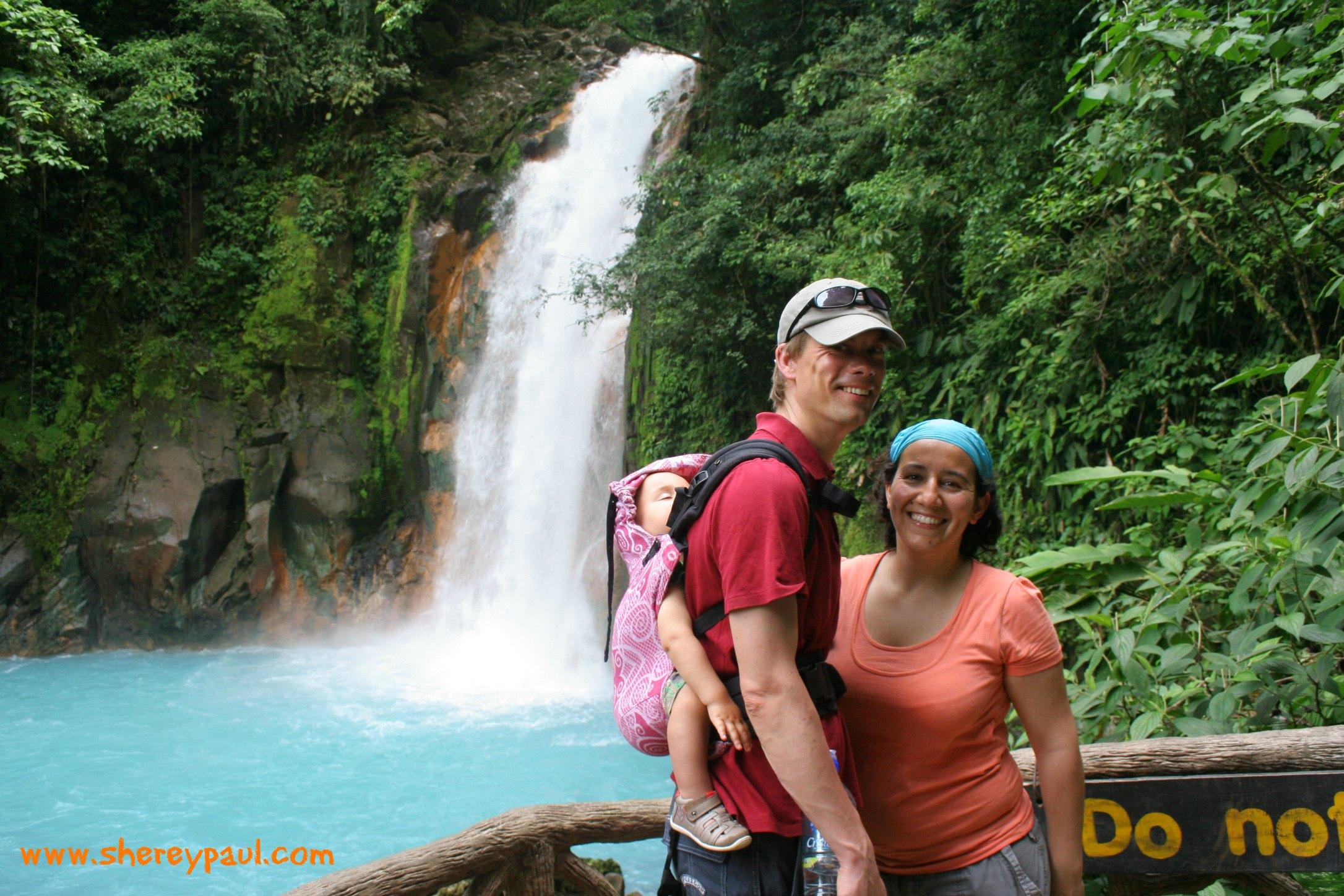 Hike in Rio Celeste