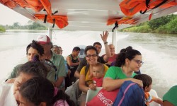 Travelling with the locals from Caño Blanco to Parismina