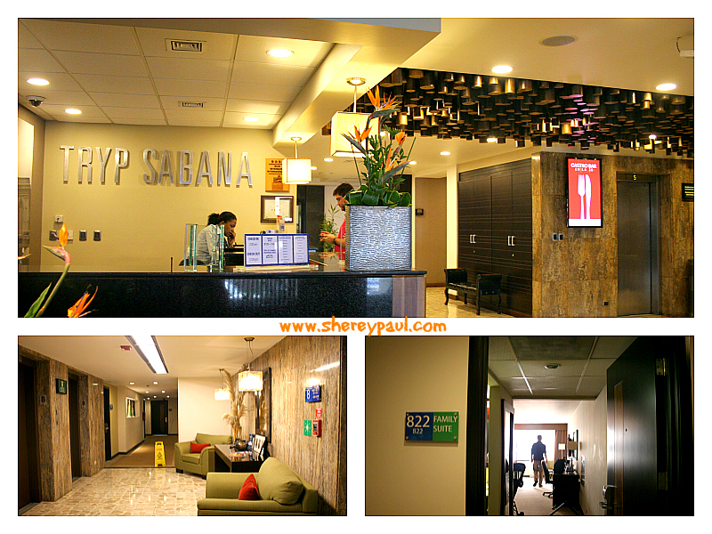 Tryp Sabana San Jose - reception