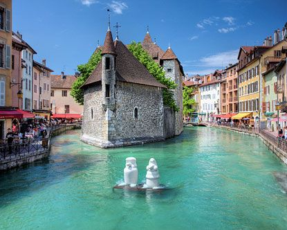 Annecy (picture from  https://www.pinterest.com/pin/375628425140357317/)