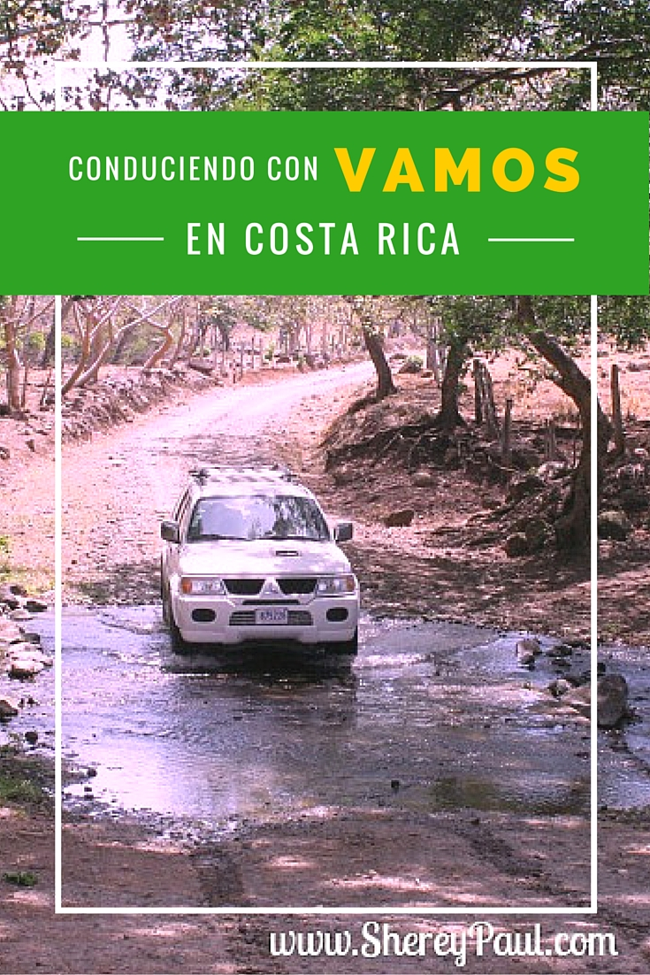Driving in Costa Rica with Vamos rent-a-car