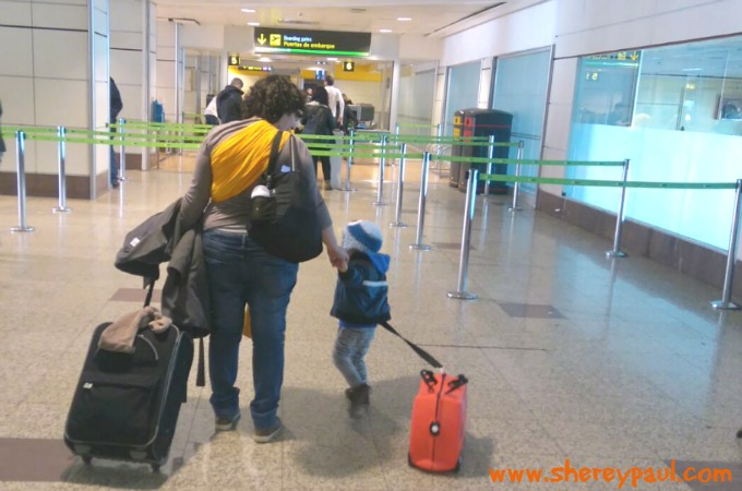 travelling with toddler and baby