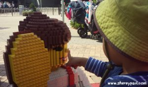 Legoland with a toddler