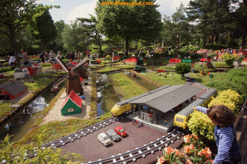 Legoland with a toddler: miniland
