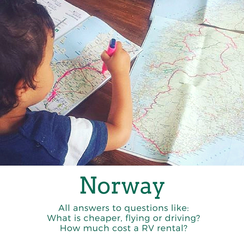 What is cheaper flying or driving to Norway