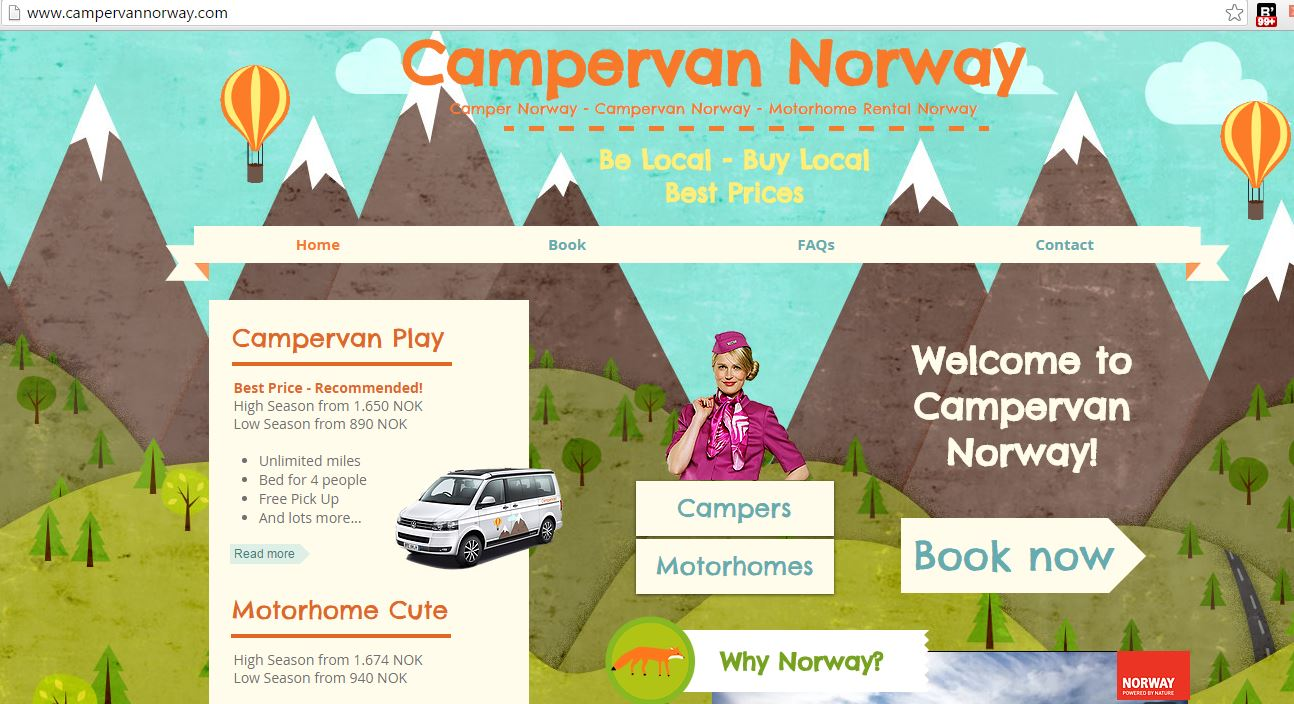 camper norway