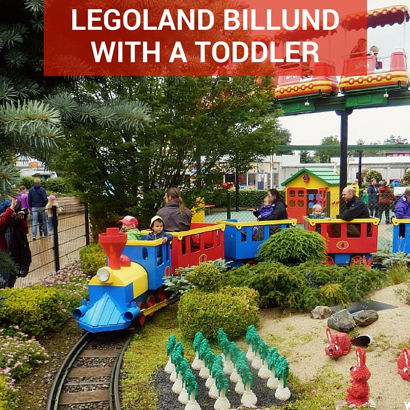 legoland billund with a toddler