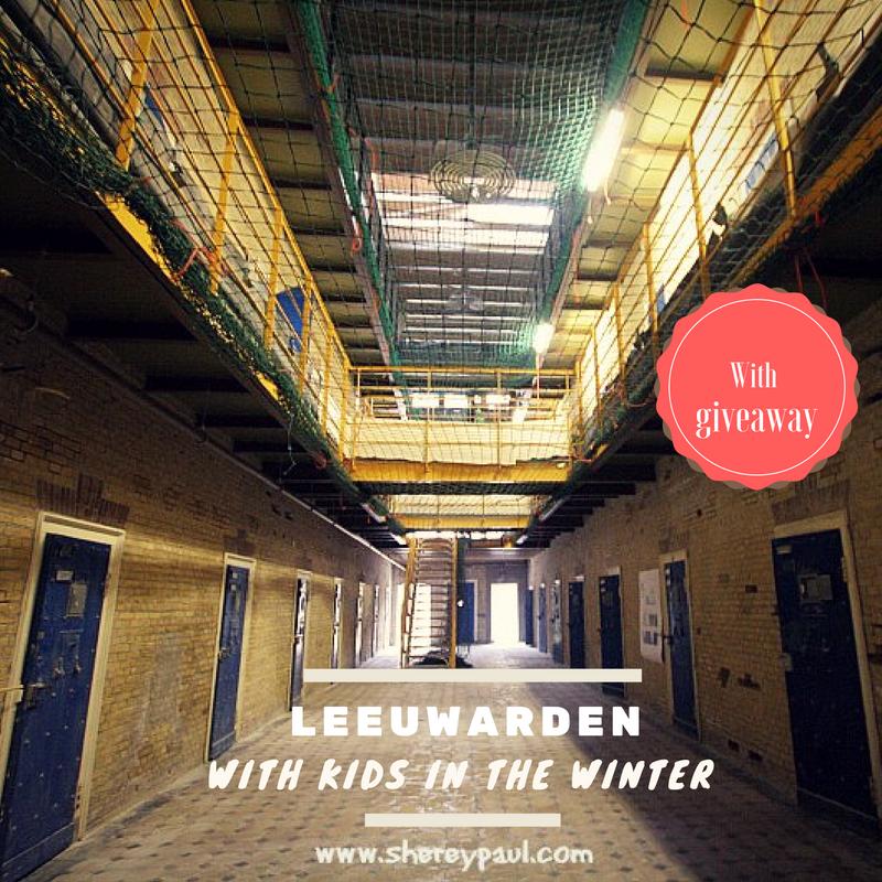 Leeuwarden with kids in winter