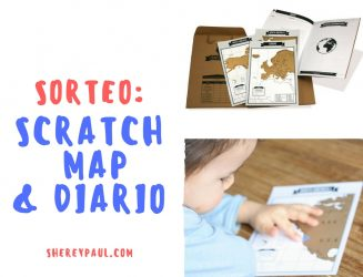 Giveaway: scratch map & travel diary