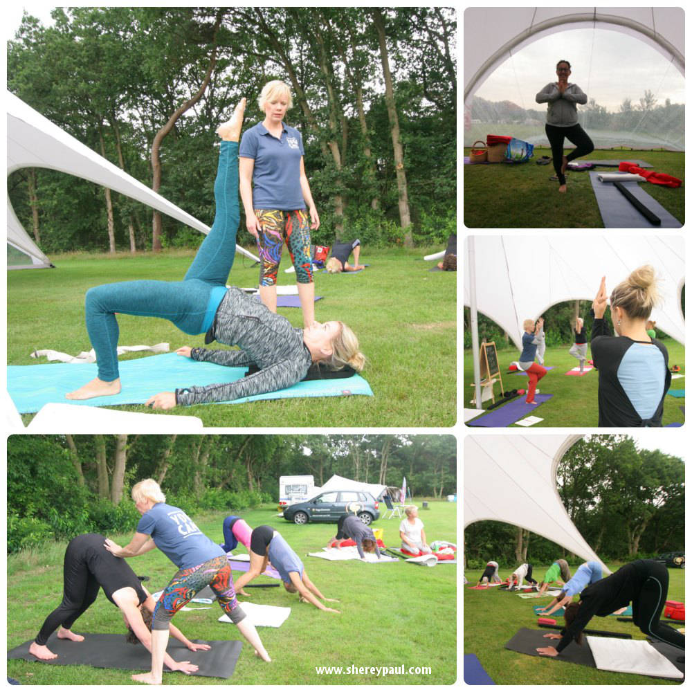 Real holidays for mums: YogaCamp at De Lemeler Esch: critical alignment yoga