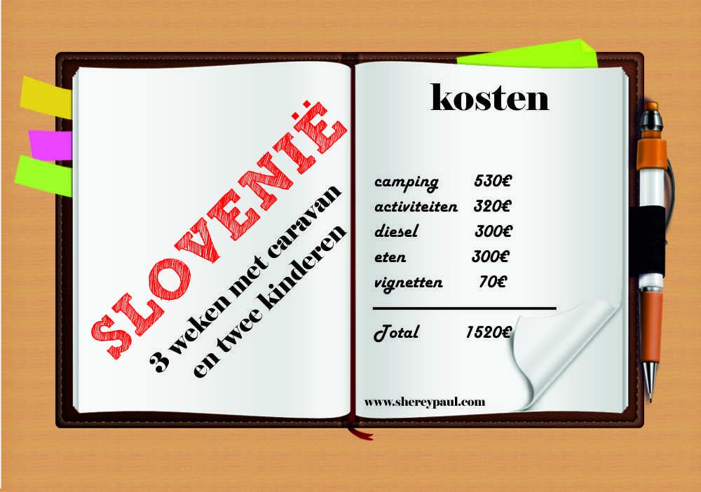 Hoeveel kost een kampeervakantie in Slovenië?
