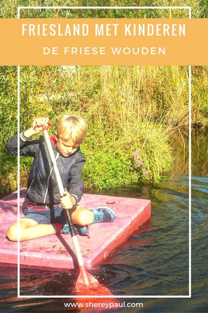 Friesland met kinderen - De Friese Wouden