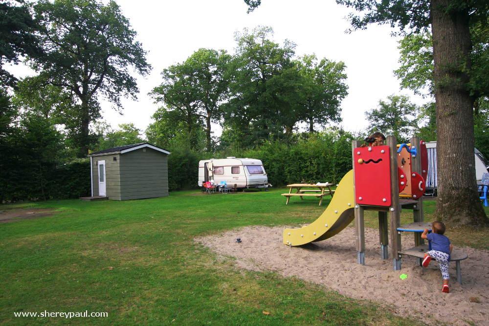 De Wâldsang is een camping met privé sanitair in Frisland
