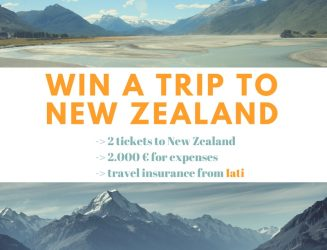 Win a trip to New Zealand with Iati