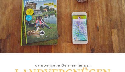 Landvergnügen: camping at a German farmer