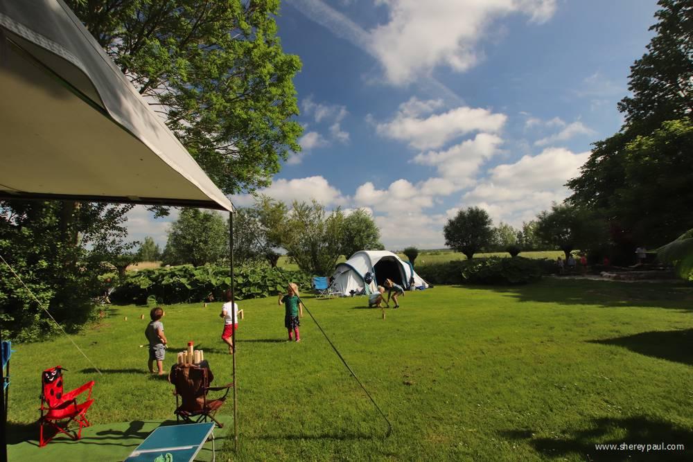It Dreamlân - kamperen bij de speeltuin