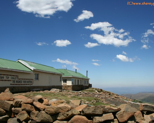 AtoZ: H is for Highest Pub in Africa, Sani Top Chalet - ww/mm