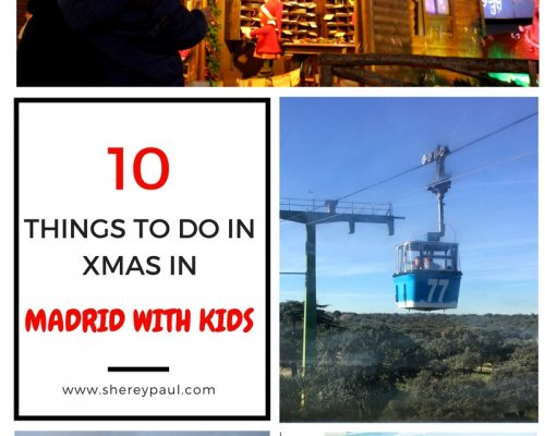 Xmas in Madrid with kids