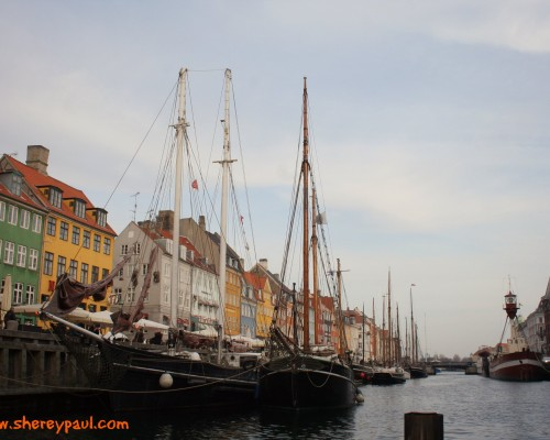 Postcard from Copenhagen Nyhavn - ww