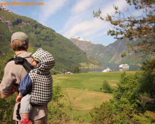 On the road: camper road trip Norway