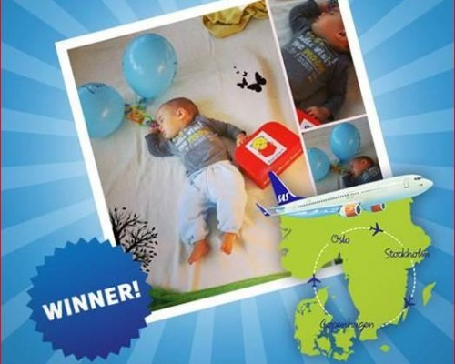 The winner of the #Icanflysas competition is... - Wordless Wednesday