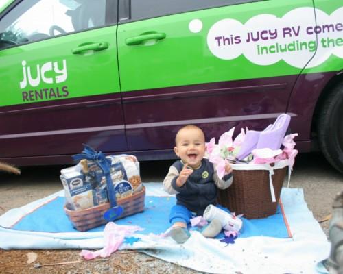 Jucy campervan Giveaway
