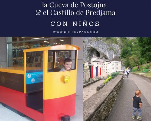 Exploring the Postojna Cave and Predjama Castle with kids