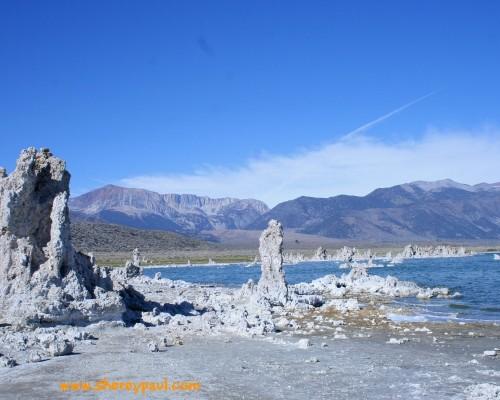 Postcard from Mono Lake, California - ww